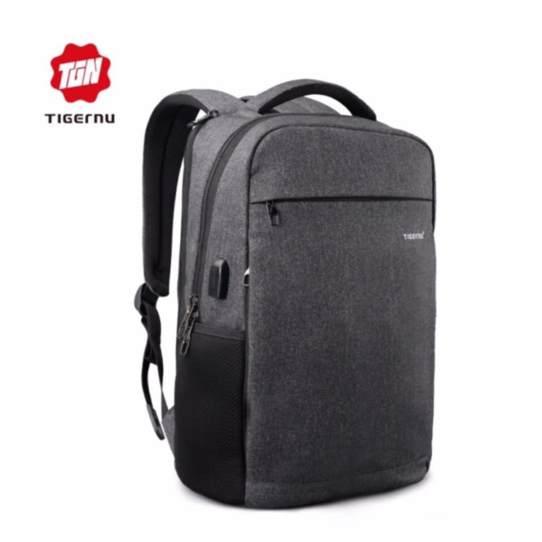 "Tigernu 15"" Laptop Backpack with USB Charging Port"
