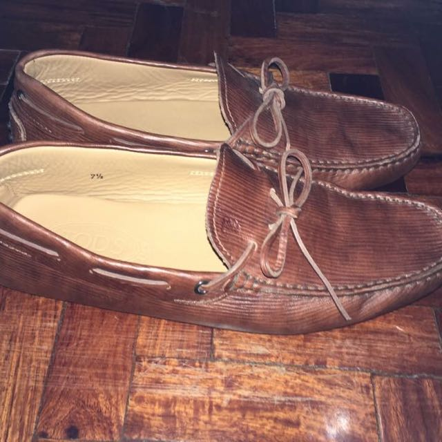 TOD'S Brown Leaher Shoes