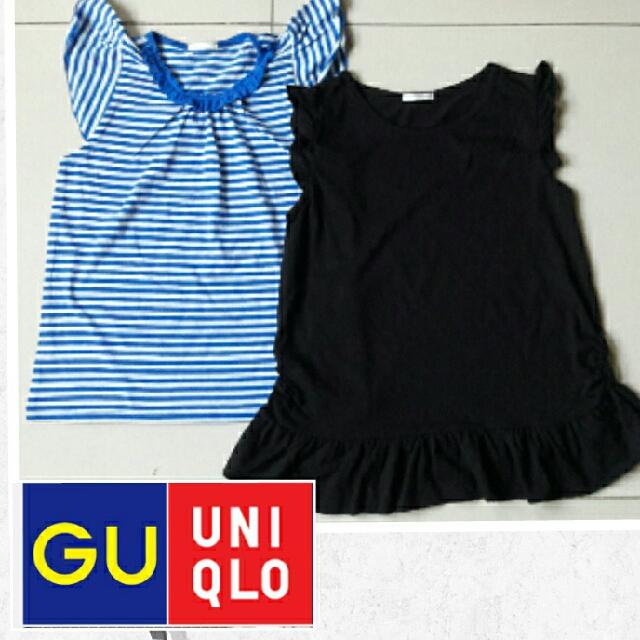 Ts anak Gu By Uniqlo 5-7T