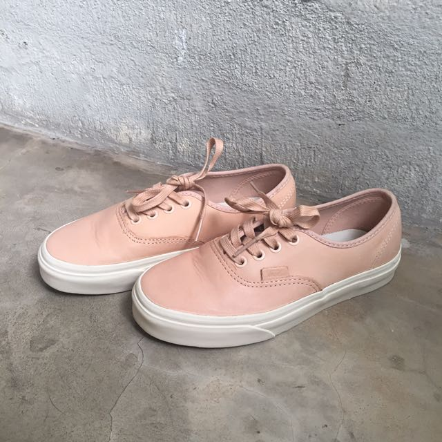 Vans Veggie Tan Leather Authentic DX (preloved, 99% cond)