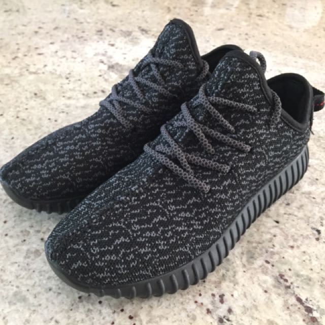 Yeezy 350 V2 Boost Size 6.5 Pirate Black New