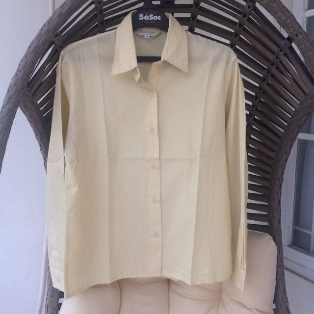 Yellow pastel longshirt