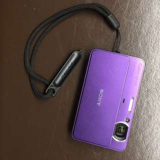 SONY Cyber-shot ultracompact camera + Toshiba memory card 8GB