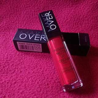 PROMO !! Make Over Intense Matte Lip Cream 06 Cosmopolitan