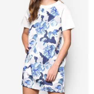 Something Borrowed Floral Shift Dress
