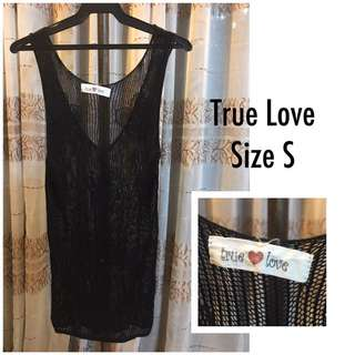True Love knit cover-up