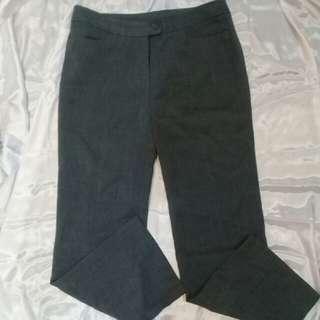 Celana bahan grey adem 😎