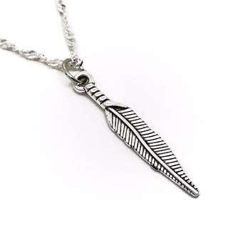 Tibetan Leaf Necklace