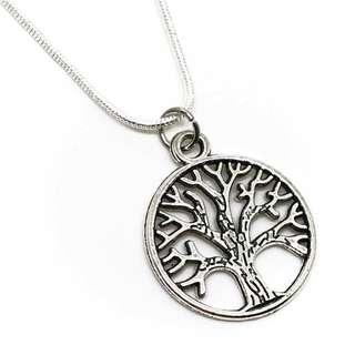Tibetan Tree of Life Necklace