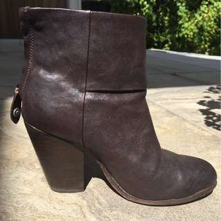 rag and bone leather booties