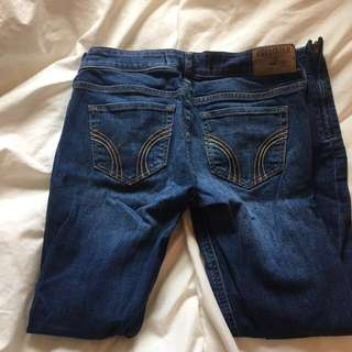 Two pairs of Hollister Jeans