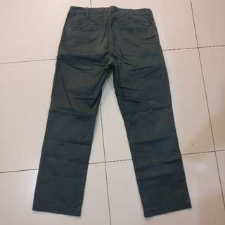 Uniqlo Grey Straight Pants Size 32