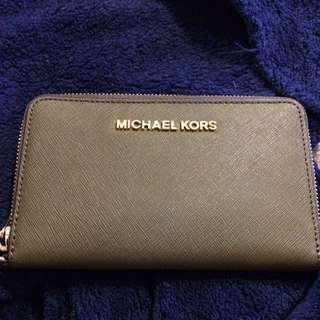 Michael Kors wristlets wallet : army green