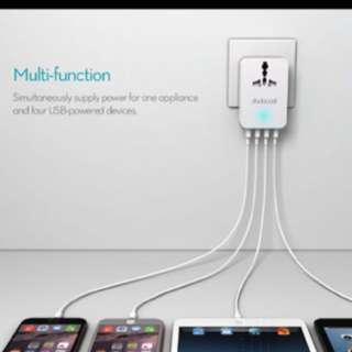4 USB charger