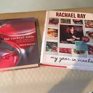 Cooking Book And Cocktail Mixing Book