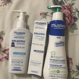 Mustela Set of 3