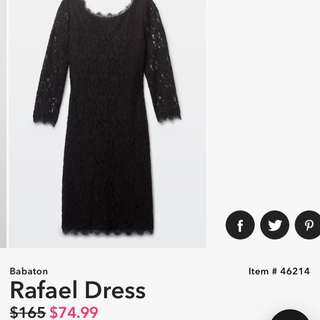 Aritzia Babaton Rafael Dress