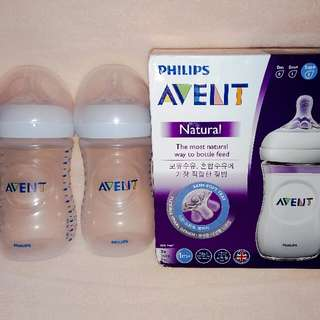 Philips Avent Natural 9oz Bottles Twin Pack