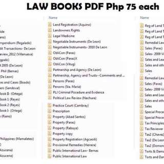 Law books pdf