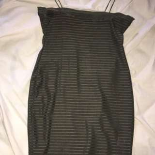 Hello Molly khaki dress