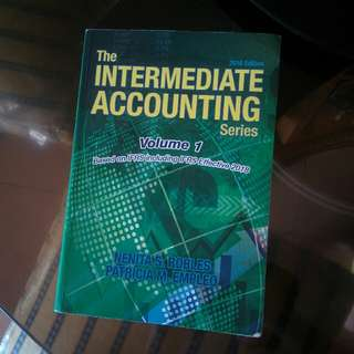 The intermediate accounting volume 1 by Robles and Empleo