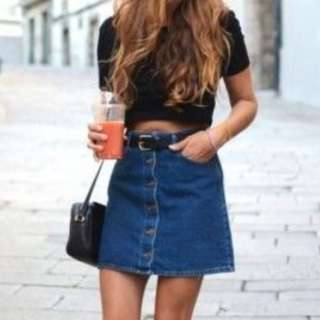 FOREVER21 DENIM SKIRT