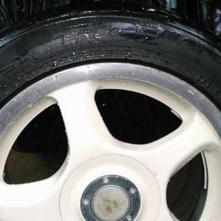 """Mags and Tires 15"""" Rim"""