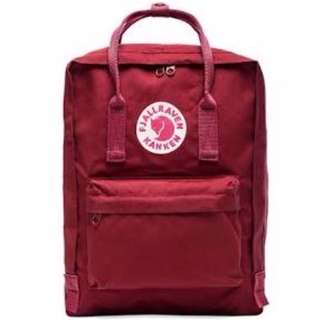 Ox Red Kanken Backpack