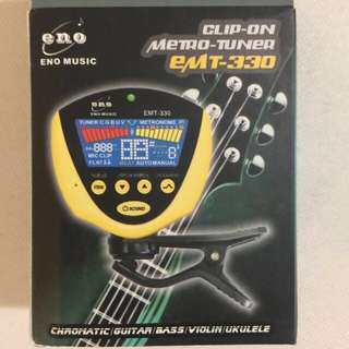 Guitar tuner With Metronome