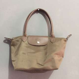 Longchamp Brown Small Totebag