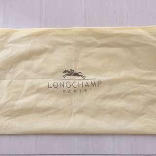 Dustbag longchamp