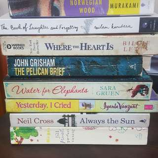 Pre-loved Books For Sale