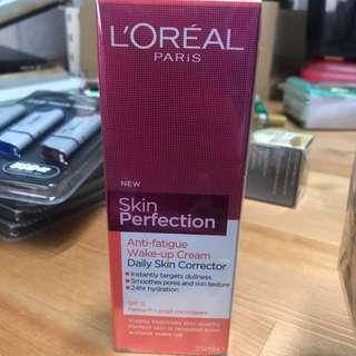 L'Oréal skin perfection wake up cream 35ml