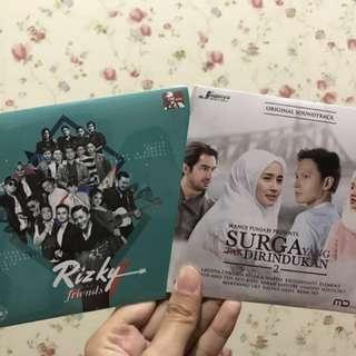 DVD Surga yang tak dirindukan dan rizky and friends