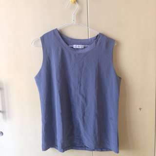 NEW Grey Sleveless Top