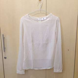 NEW Textured White Top