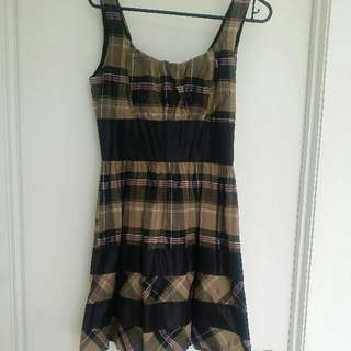 Burberry Style Dress