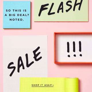 Flash Sale Later... Selected Items at a very LOW!LOW PRICE