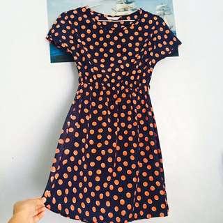 TOMATO Polka Dot Dress