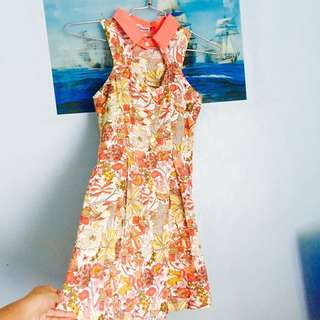 TOMATO Halter Dress