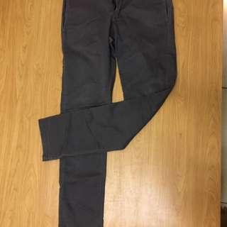 Dickies skinny 鐵灰褲
