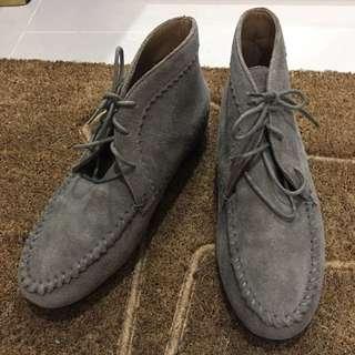 夏日風情🌞grace gift 麂皮增高靴 40