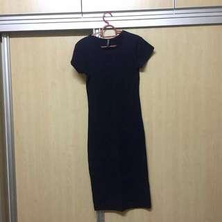 Cotton On dark Blue dress