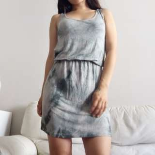 Small DIY Tie Dye Dress