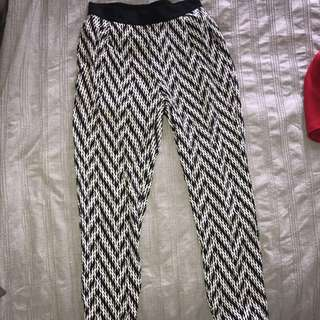 Bardot flowy pants (size 6)