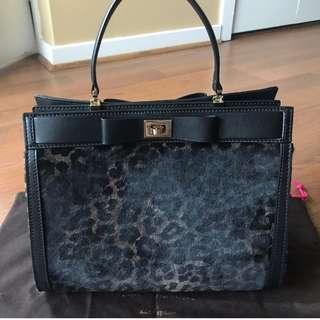 Luxe rare Kate Spade calf hair bag