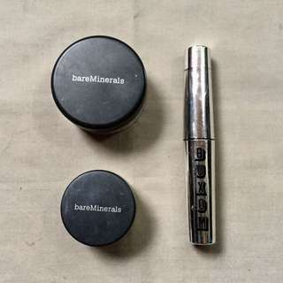 Bare Minerals Set: Mineral Foundation And Mascara!!