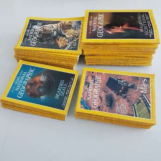 Time Travel To The Past! Selling These Brand New 1992-2001 NatGeo Magazines