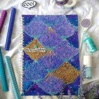 🌊 Mermaid-ology Glitter Notebook