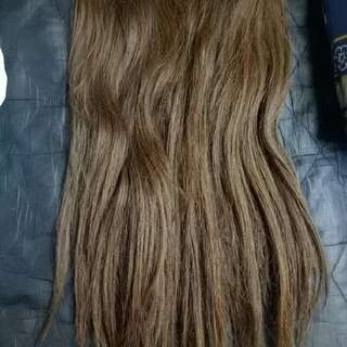 Hairclip Light Brown 70cm